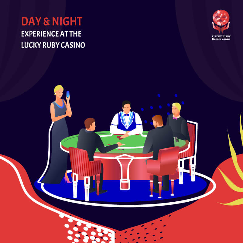 Day & Night Experience At The Lucky Ruby